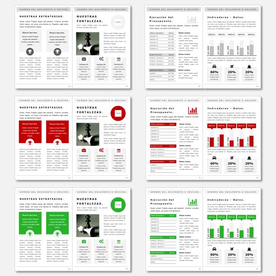 Plantillas para crear informes, dossier, folletos y propuestas ...