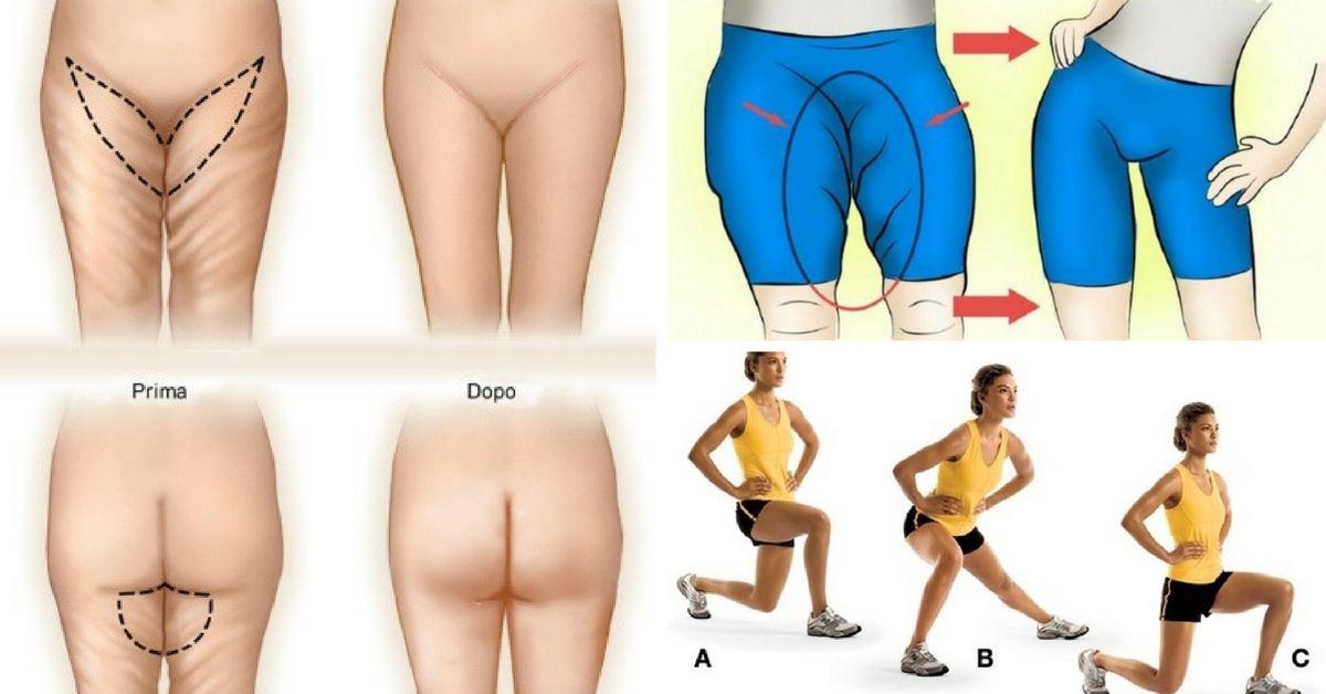 esercizi per eliminare il grasso nellinterno coscia