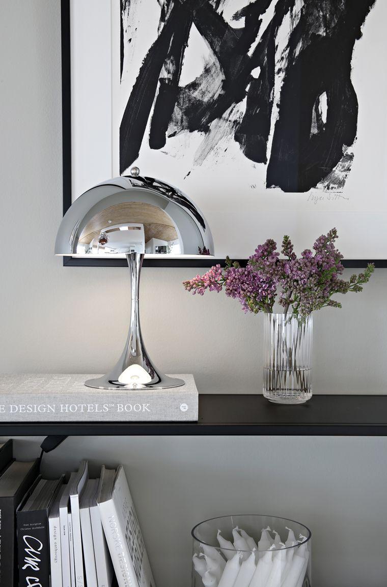 The new Panthella MINI Chrome  Stylizimo  Decor, Lamp decor