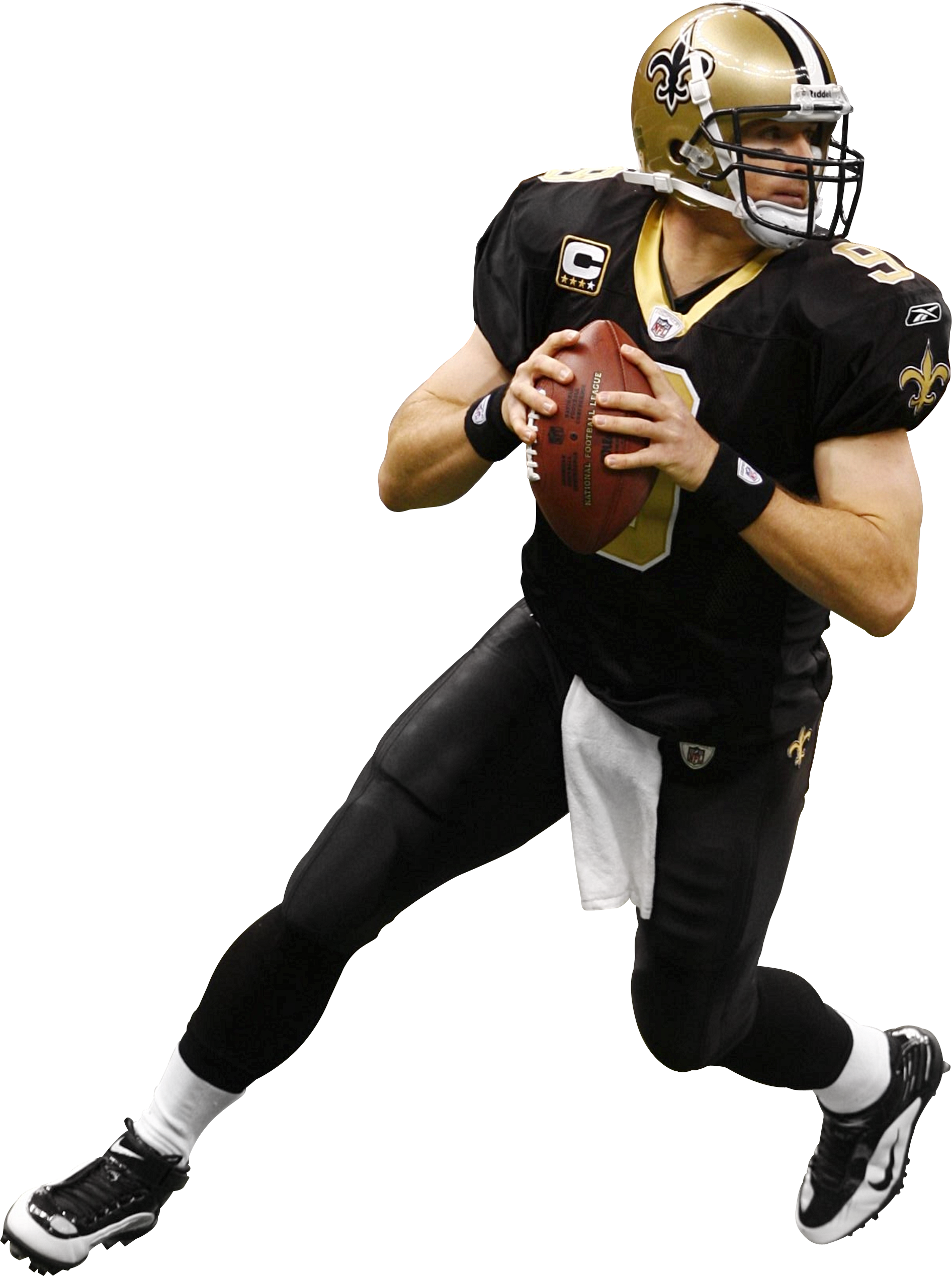 Drew Brees 3 Png Saints Football New Orleans Saints Fantasy Football