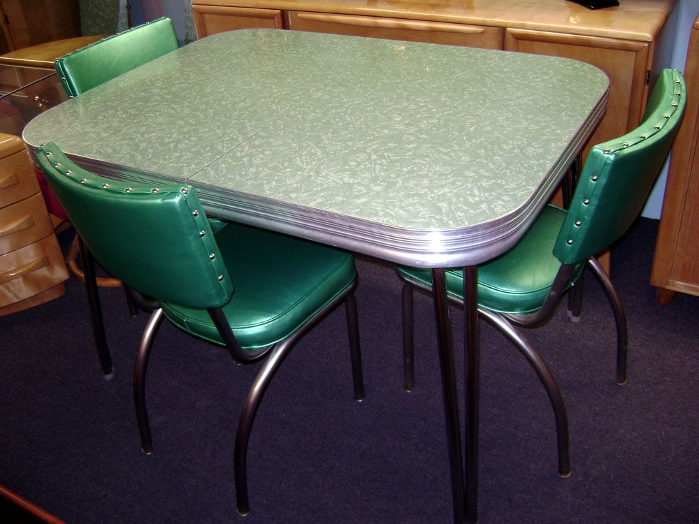 Attirant Formica Table And Chairs (every House Had A Set!)