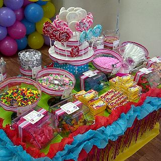 Candy Land Birthday Party Candy Table Birthday Party Candy Table
