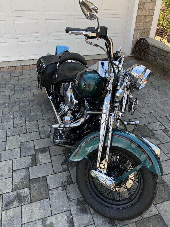 Front Fender fits Harley Heritage Springer FLSTS