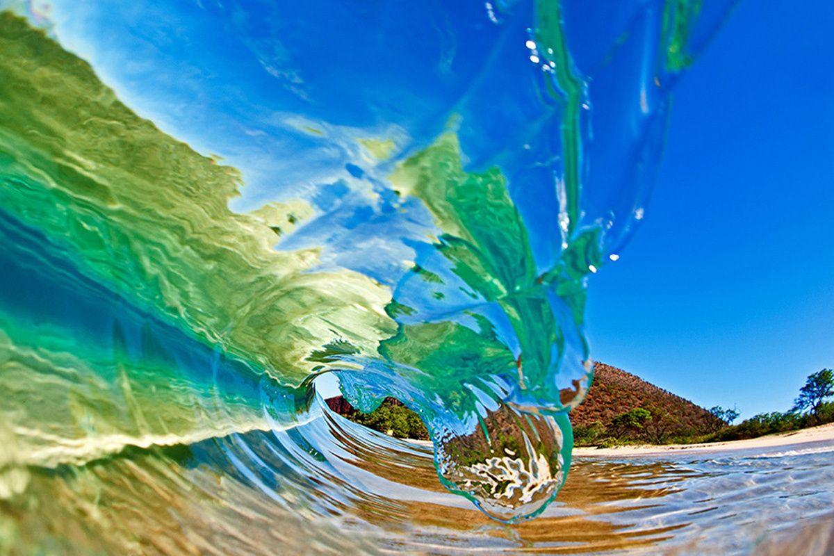 15 imágenes impresionantes del fotógrafo de las olas