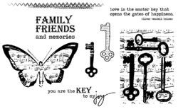 You are the key to my joy....must make something with this!  Key To Joy | Archivers Annex