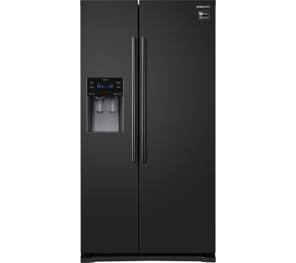 SAMSUNG RS53K4400BC American-Style Fridge Freezer - Black | Freezer