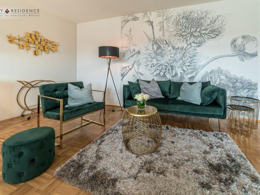 Moblierte Wohnung Auf Zeit Zu Vermieten In 2020 Moblierte Wohnung Moderne Wohnung Und Haus Deko