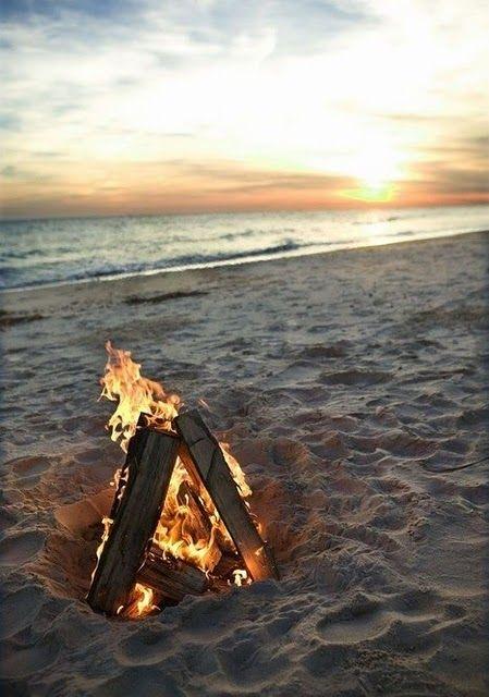 How To Throw An Epic Beach Party Beach Fire Beach Beach Bonfire