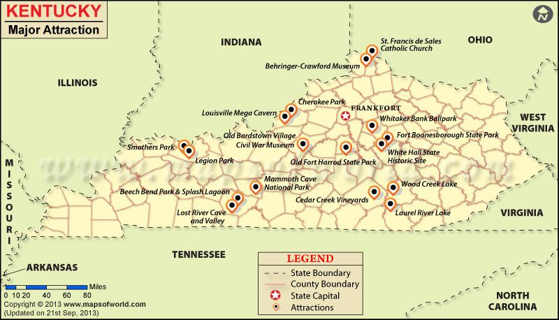 Kentucky Attractions | places I wanna go | Pinterest | Kentucky and ...