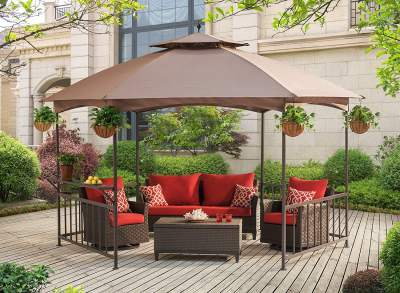 10 Best Garden Gazebos Aesthetic And Affordable In 2020 Patio Gazebo Patio Patio Canopy