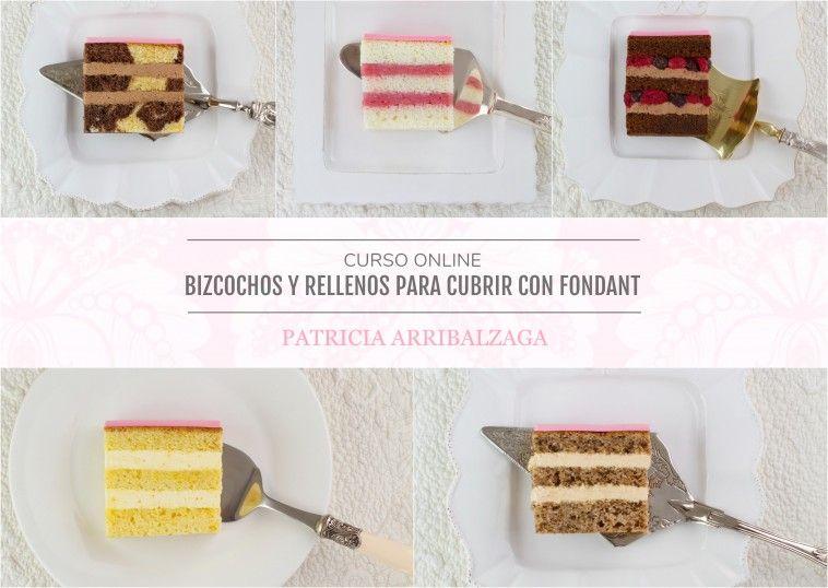 Curso Online de Bizcochos y Rellenos - Patricia Arribálzaga www.cakeshautecouture.com