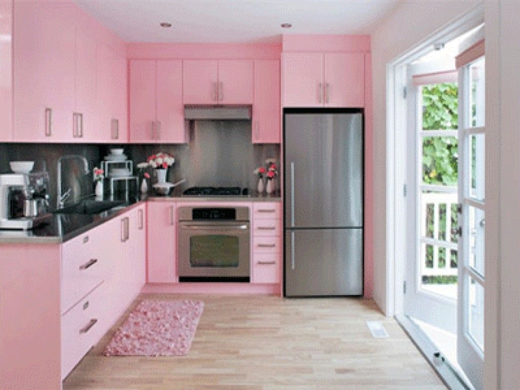 Kitchen Paint Colors: Itu0027 Easy : Paint Colors Modern Kitchen Pink Color
