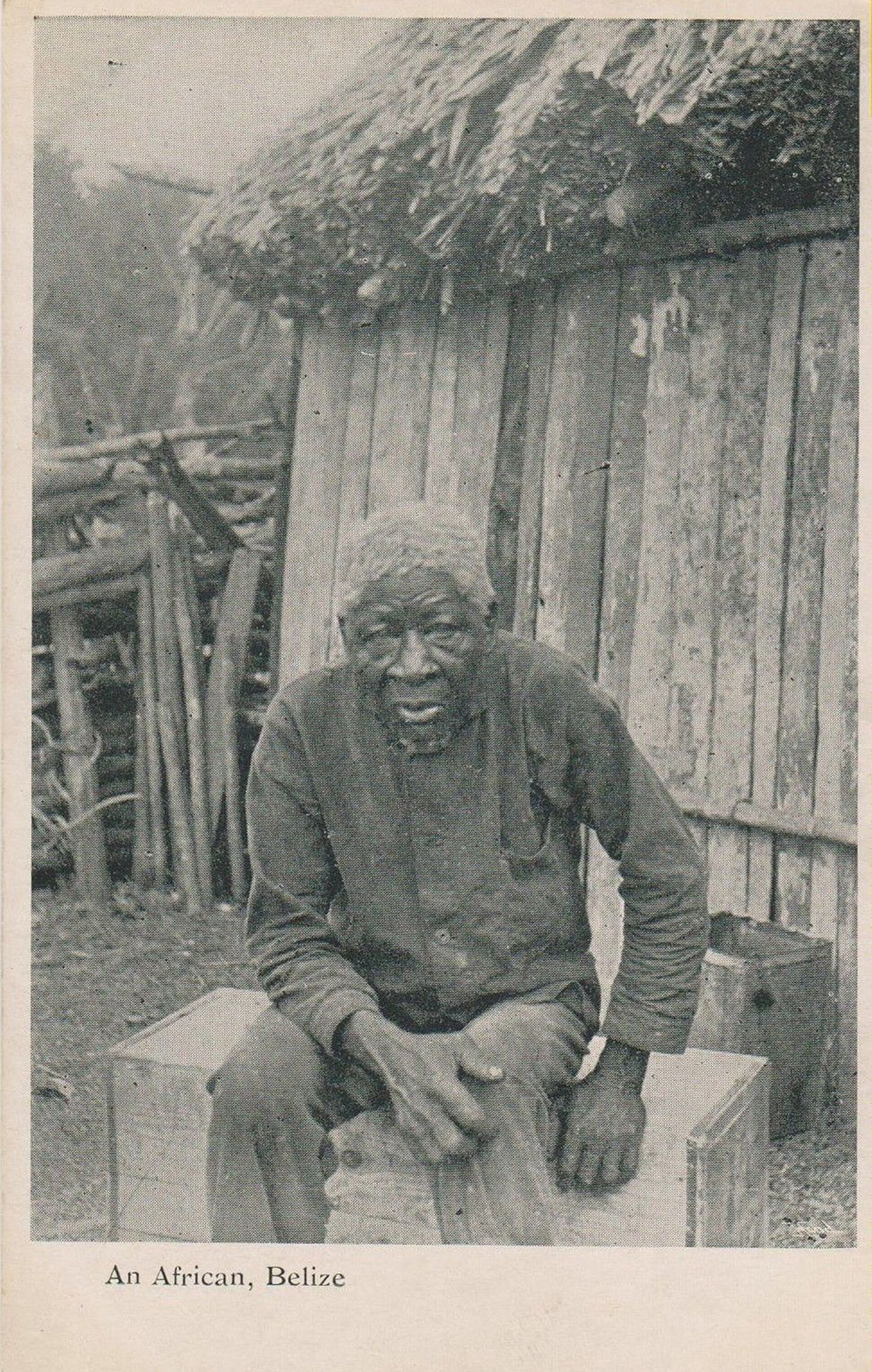 Belizean Man 1920'S Belizean, Historical photos, Photo