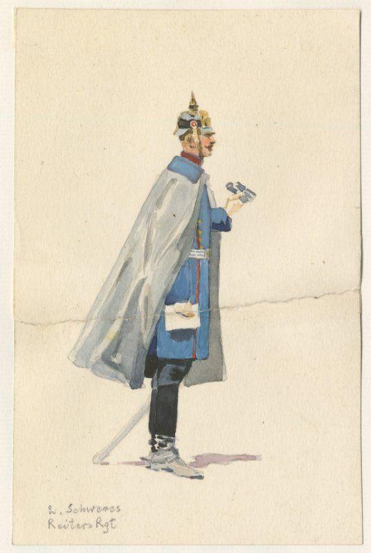 German 2nd Royal Bavarian Heavy Cavalry Regiment Archduke Francis