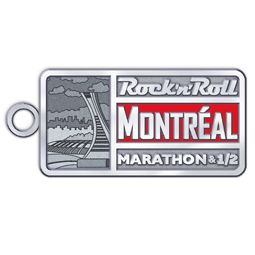 Official Tour Stop Charm for Rock 'n' Roll de Montreal Marathon & 1/2