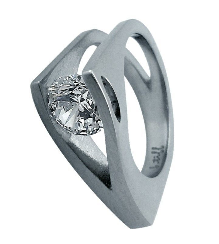 B Tiff Signity Star Brighter Than Diamond Tension Set Solitaire 2ct Ring Jewelry Amp Watche Cz Wedding Ring Sets Engagement Ring Sizes Cz Rings Engagement