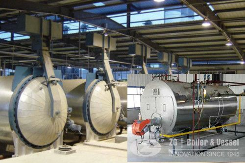 5ton horizontal steam boiler for autoclave   AAC autoclave source ...