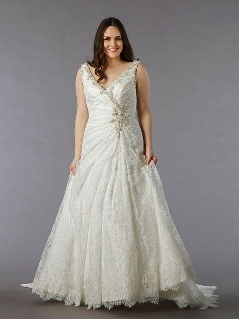 Vestidos de novia tallas grandes espana