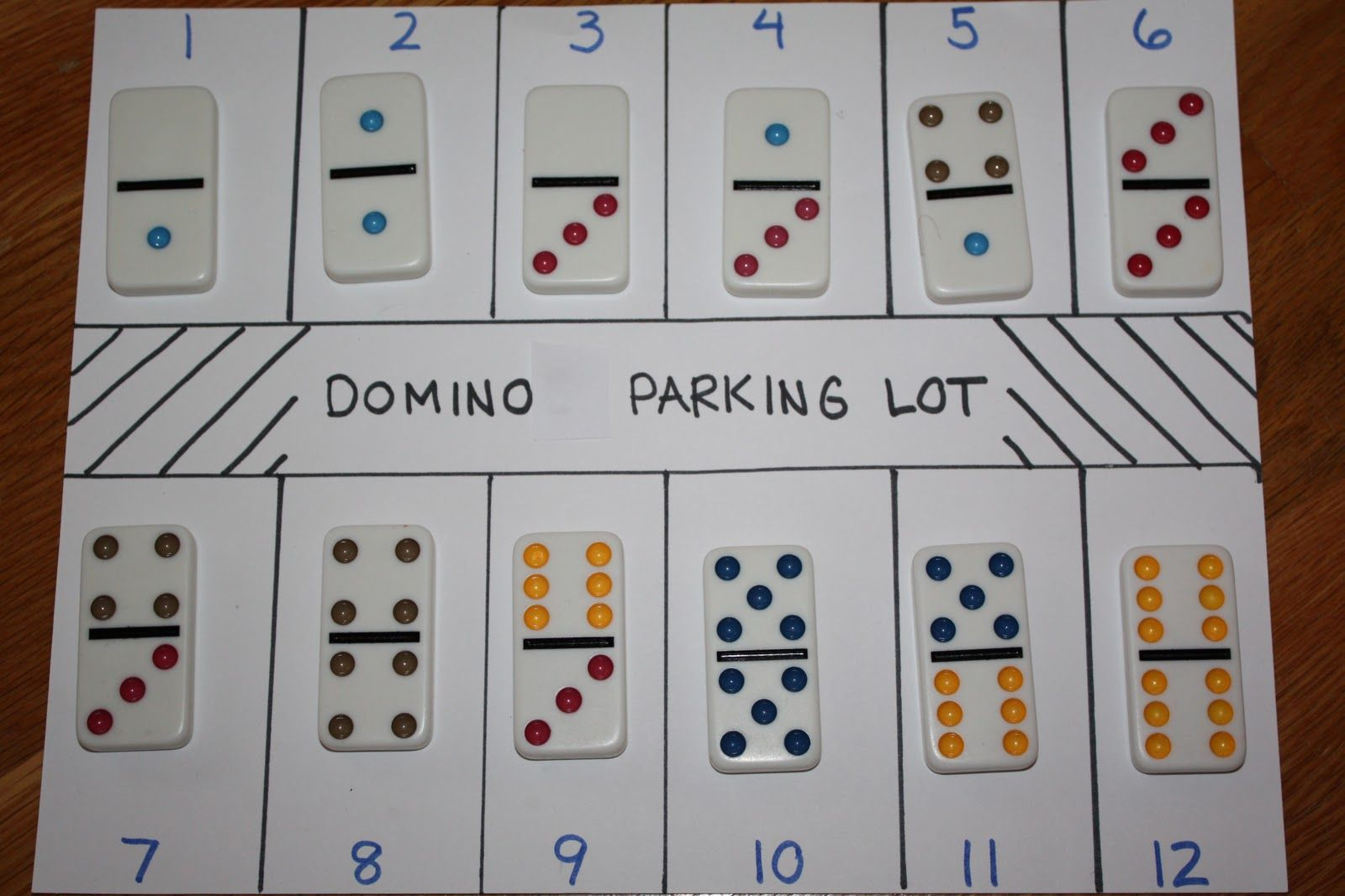 Sweet And Simple Things Domino Parking Lot