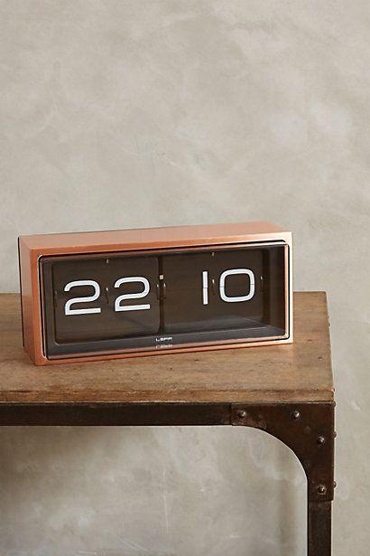 Retro Wall Clock - anthropologie I\u0027m that person that needs a - schöne wanduhren wohnzimmer