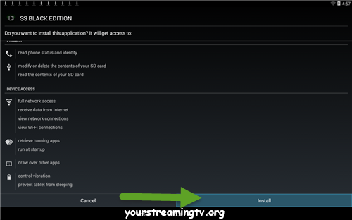 SS Black Edition APK Download & Install – Your Streaming TV