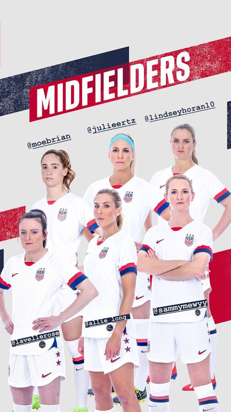 Uswnt Mid Wwc Roster Drop May 2 2019 European Soccer Players Women S Soccer Team Usa Soccer Women