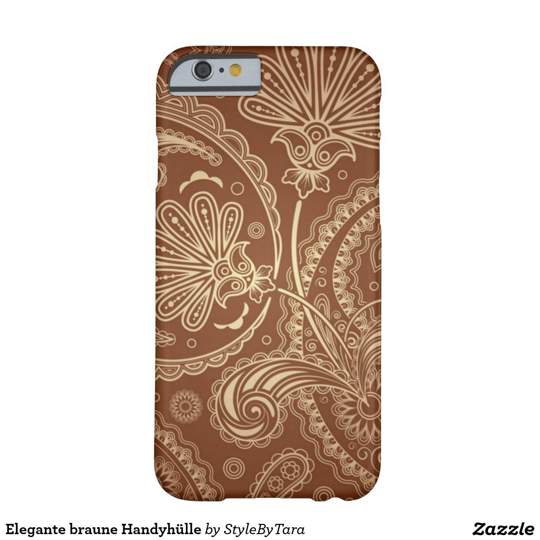 Elegante braune Handyhülle Barely There iPhone 6 Hülle