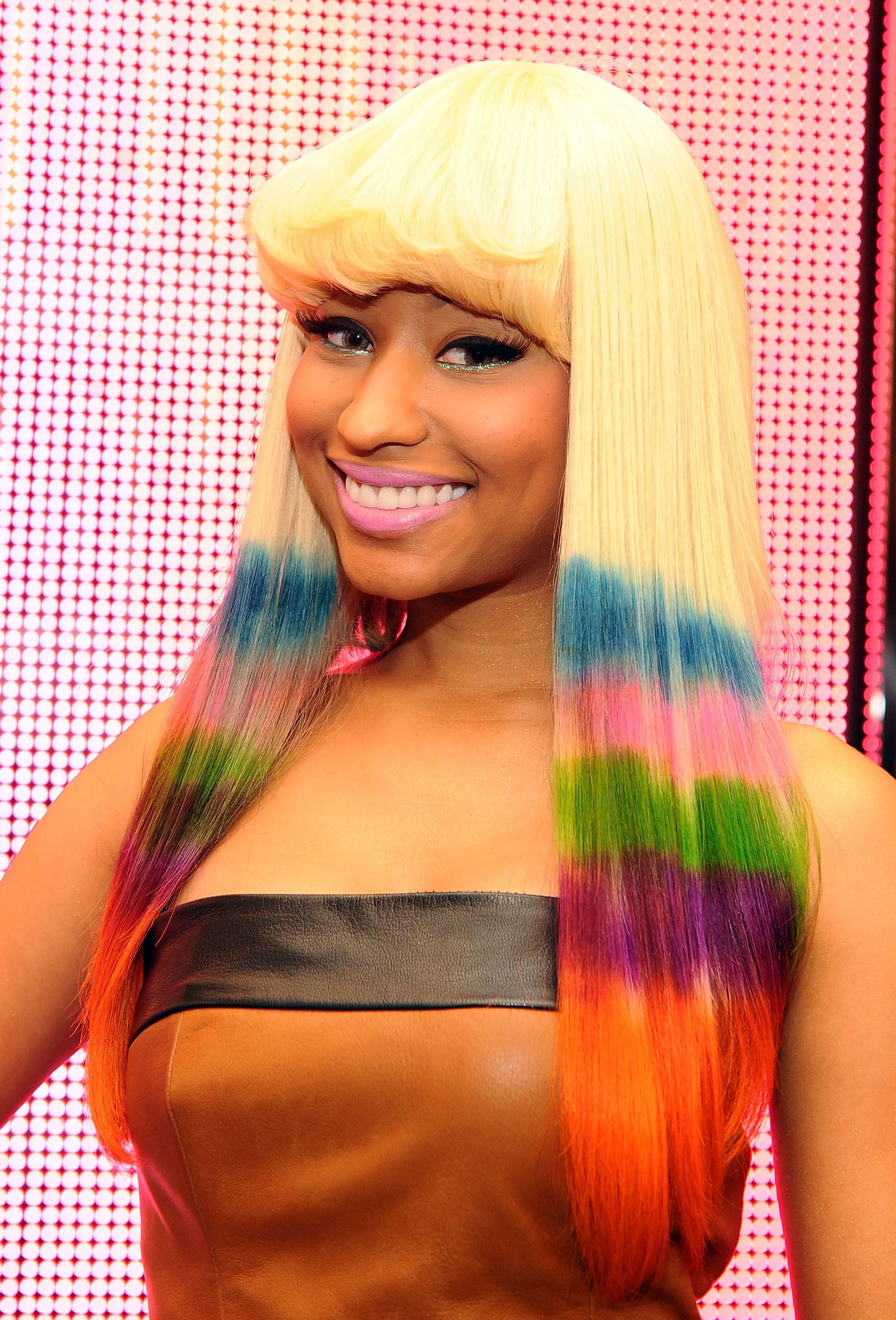 see your fave celebs' most over-the-top rainbow hair