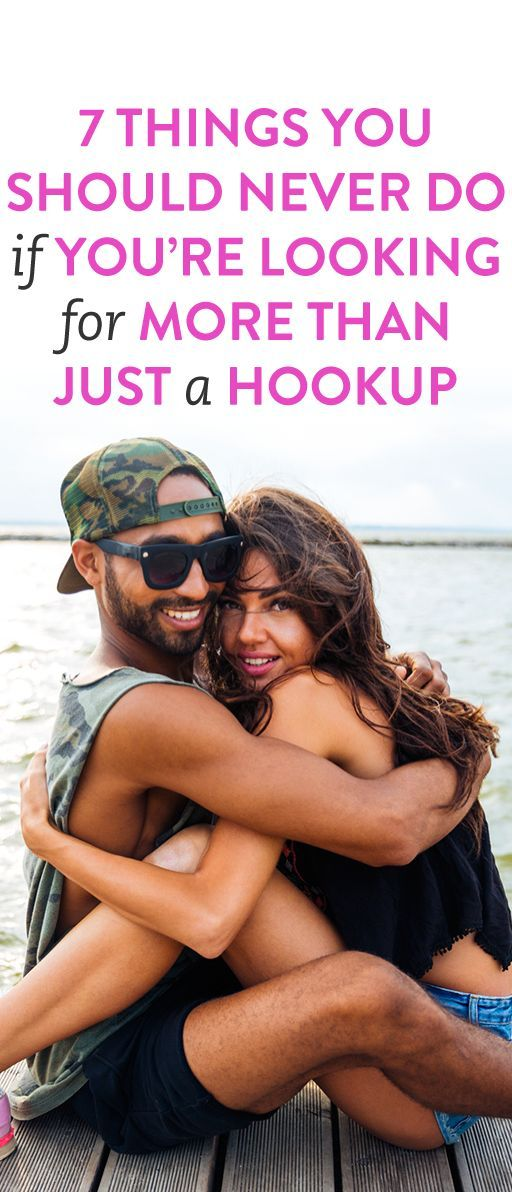 How to know if youre just a hookup
