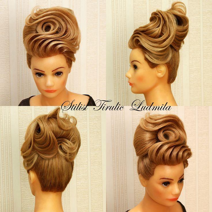 Tirulic Liuda Evening Hair with Wella #evening #liuda #tirulic #wella #eveninghair