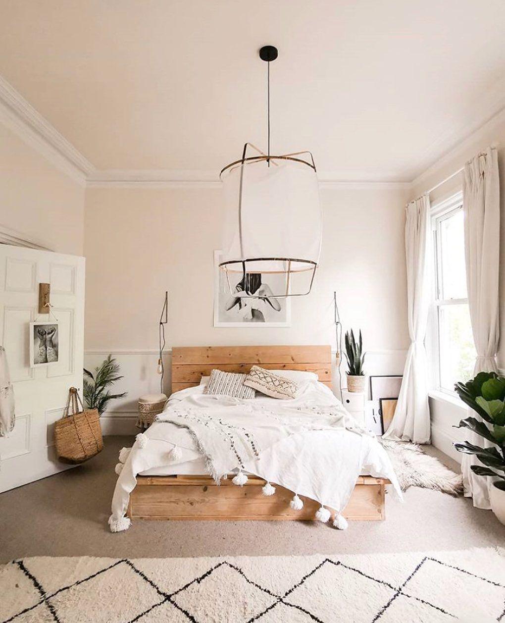 Lonny On Instagram Bedtime Beckons The Neutral Nuanced Bedroom Of Sallyfazelihome Simple Bedroom Room Ideas Bedroom Bedroom Makeover Cool bedroom ideas lonny