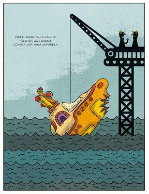 El hundimiento del submarino amarillo