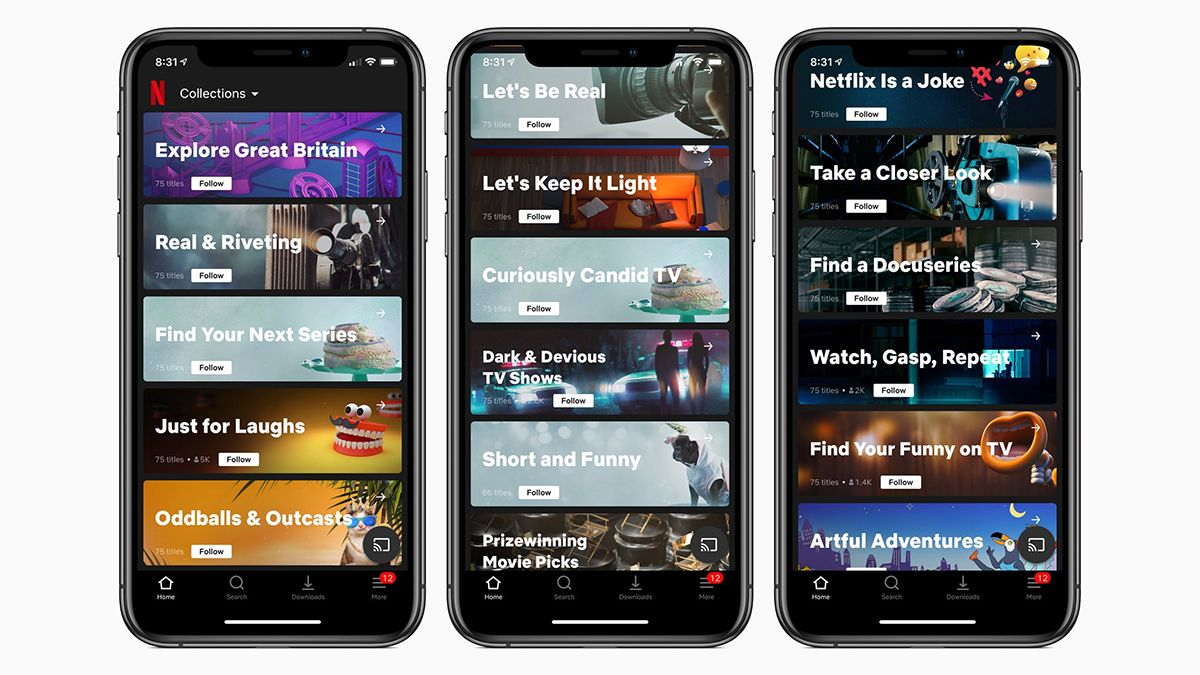 Netflix is testing humancurated collections to go with