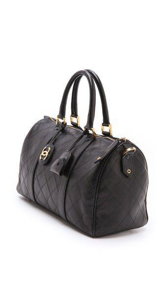 1f8864bf078815 Vintage Chanel Quilted Doctor Bag in 2019 | Doctor Bag | Vintage ...