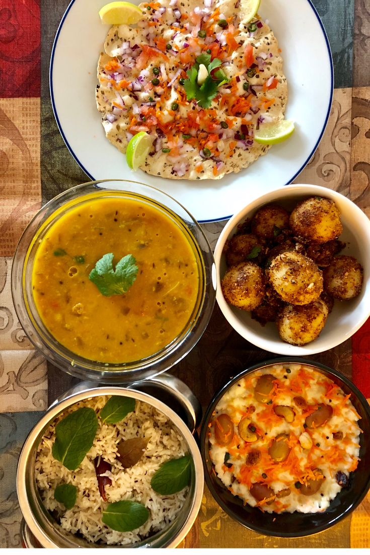 The Ideal Indian Vegetarian Lunch Healthy Recipes