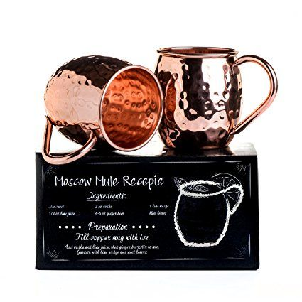 Theultimatechef Handcrafted 100 Solid Moscow Mule Copper