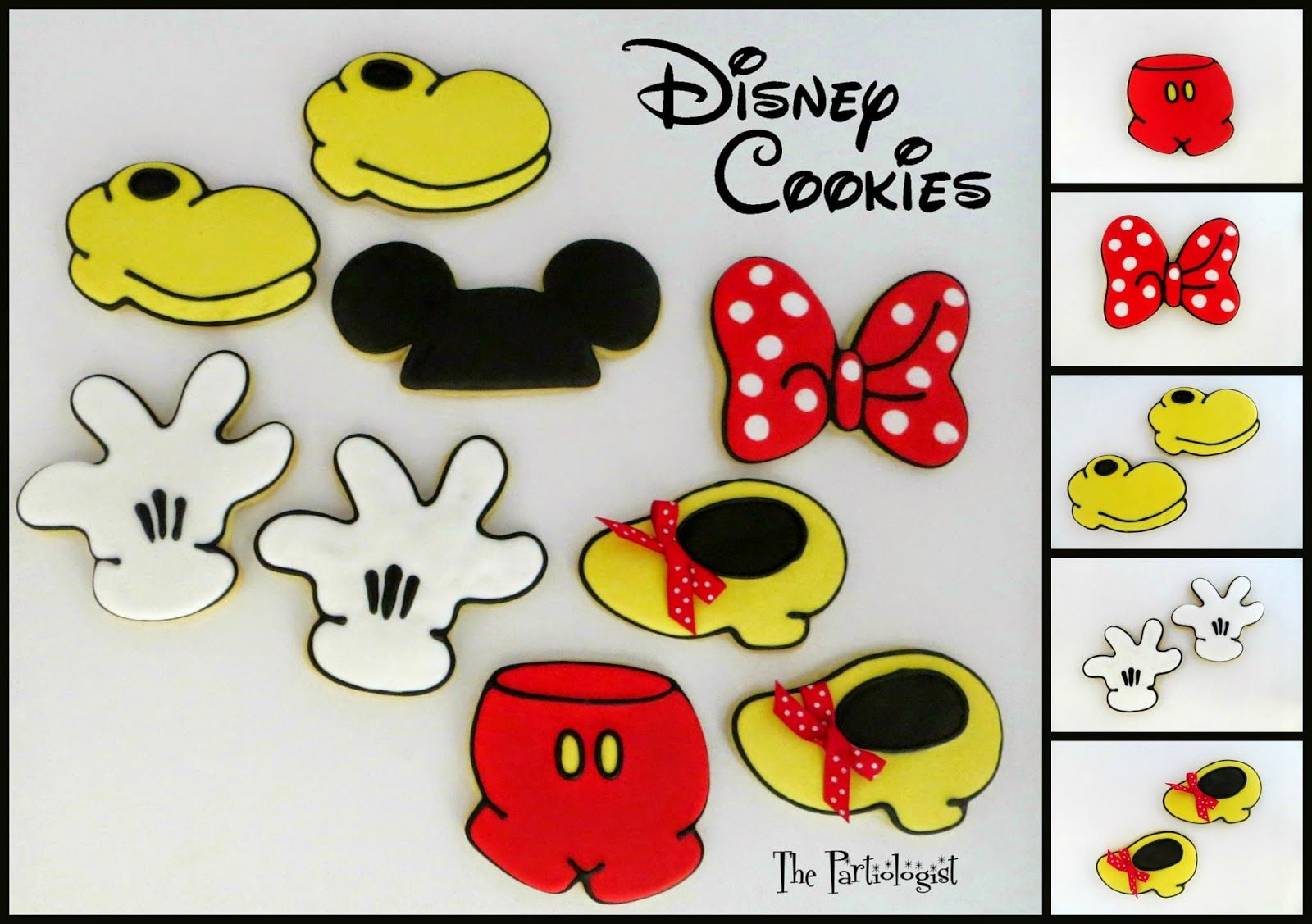 The Partiologist: Disney Cookies!