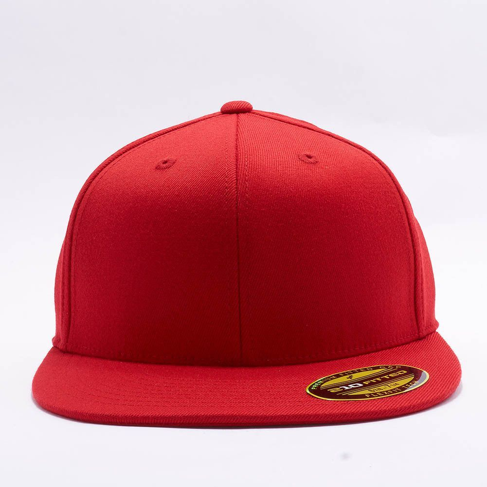e66a26906f5 ... wholesale flexfit yupoong 6210 premium 210 fitted hat wholesale red  c0cce 242e5