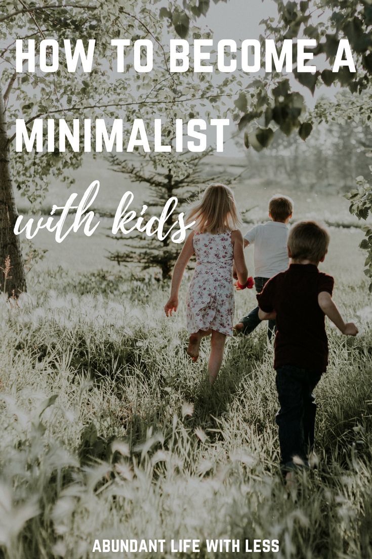 5 Important First Steps When Implementing Minimalism With Kids images