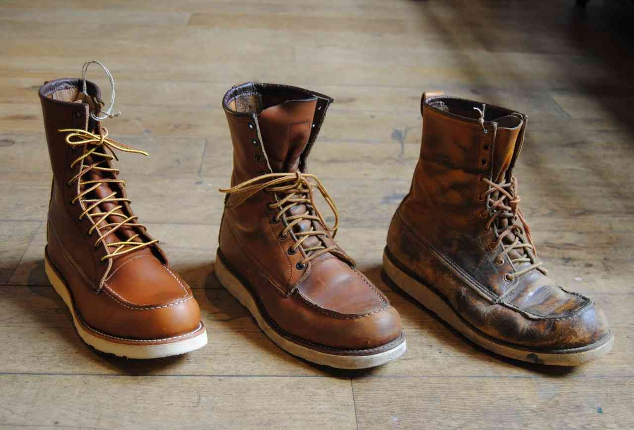 Old Red Wing Boots