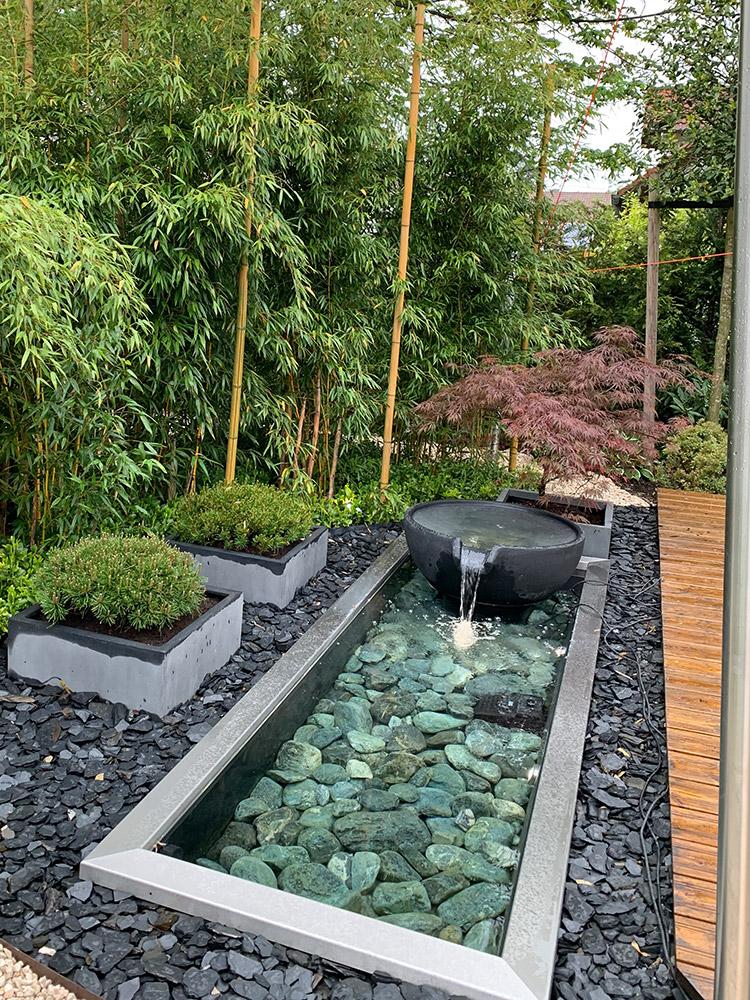 Referenzen Slink Ideen Mit Wasser Wasserbecken Garten Brunnen Garten Wasserspiel Garten