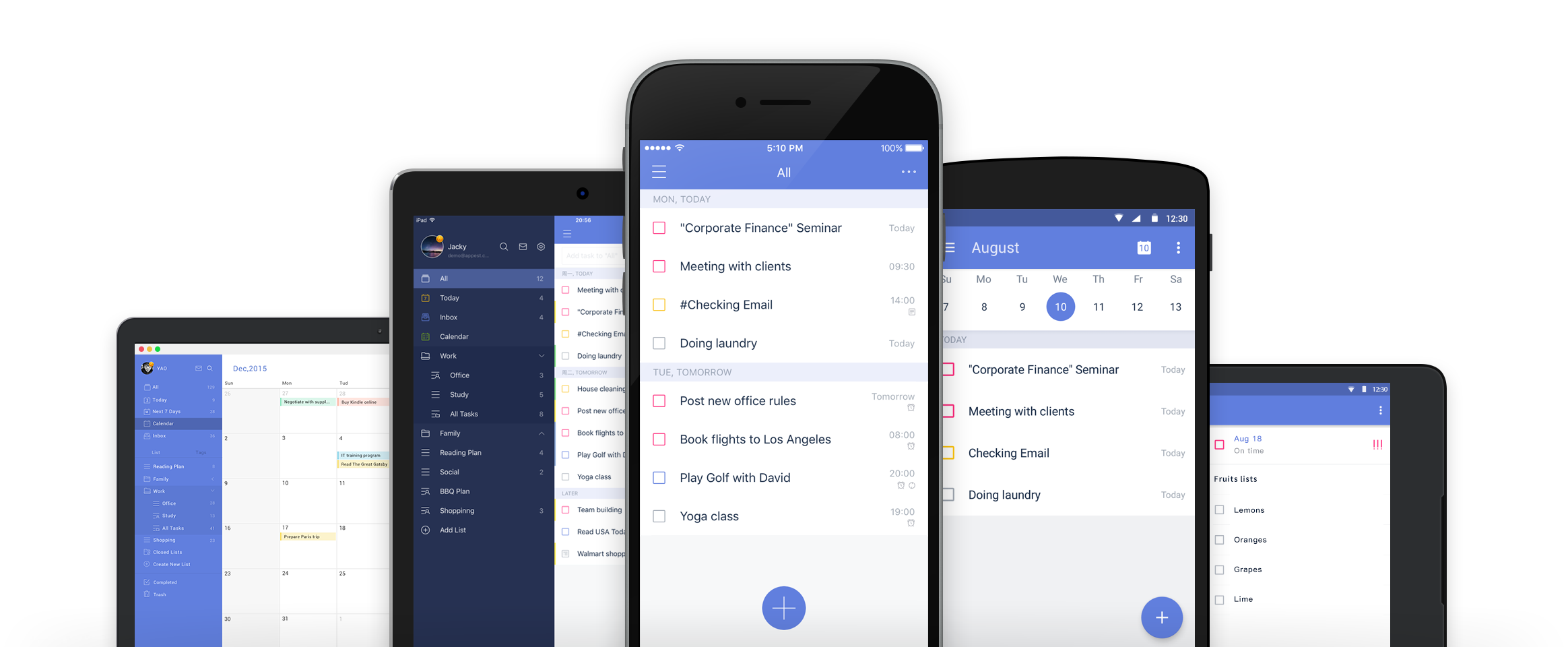 TickTick Todo list, checklist and task manager app for