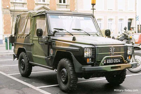Peugeot P4 Light Utility Vehicle Military Jeep Peugeot Army