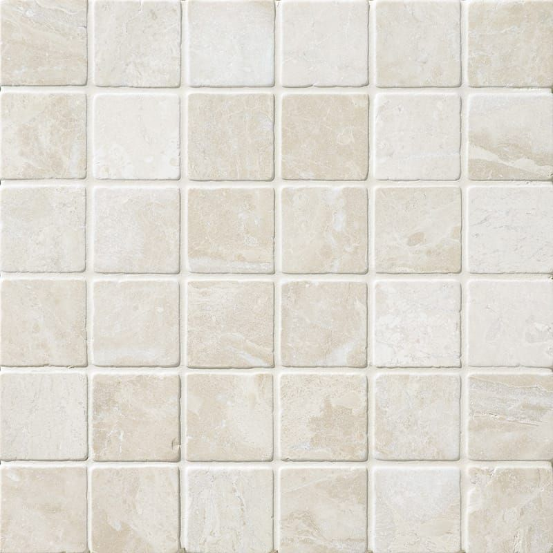 Diana Royal Tumbled 2x2 Marble Mosaics 12x12 Country Floors Of America Llc Marble Mosaic Tiles Marble Mosaic Beige Marble
