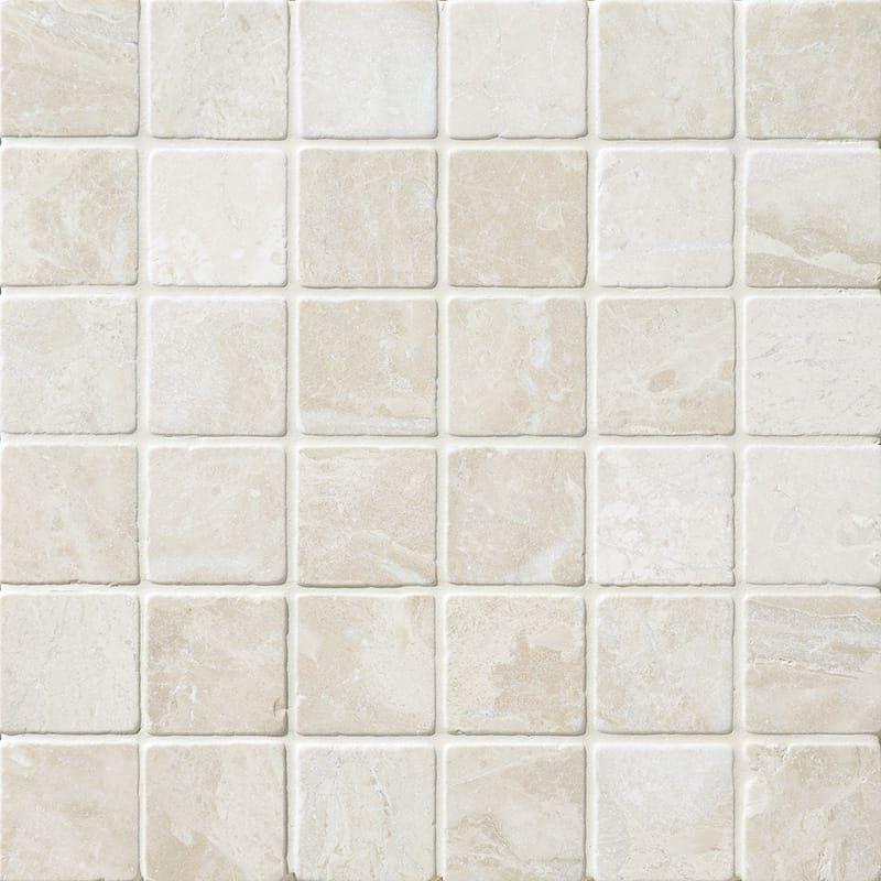 Diana Royal Tumbled 2x2 Marble Mosaics 12x12 Country Floors Of America Llc Marble Mosaic Tiles Marble Mosaic Beige Marble
