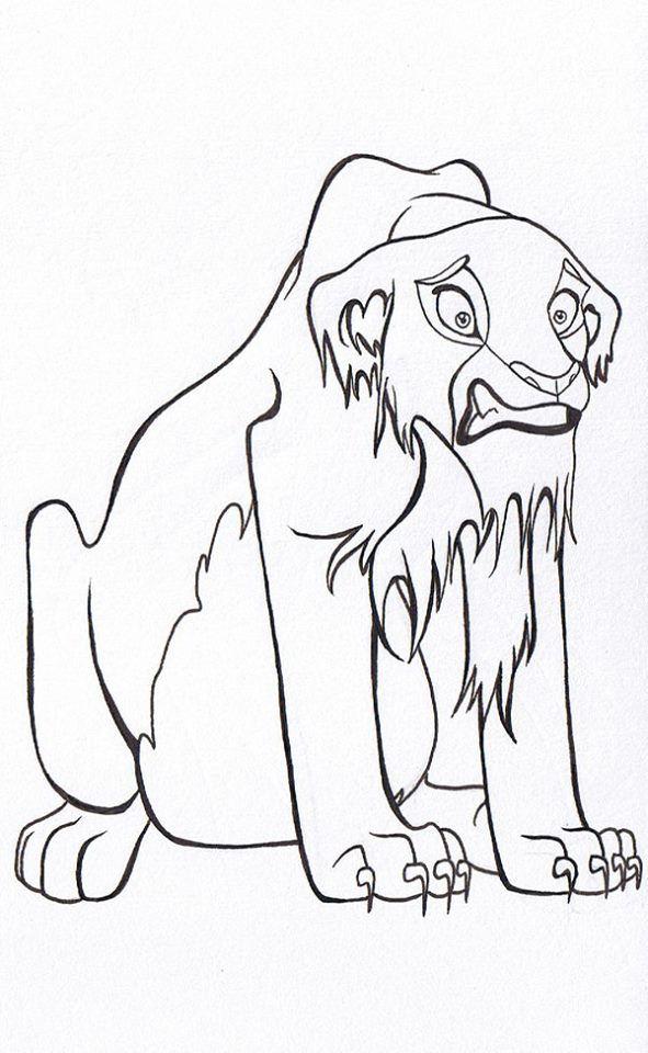 Pin by marjolaine grange on coloriage roi lion | Pinterest