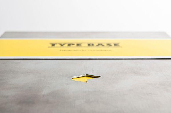 Type Base – Typographic Principles by Kurt Glänzer, via Behance