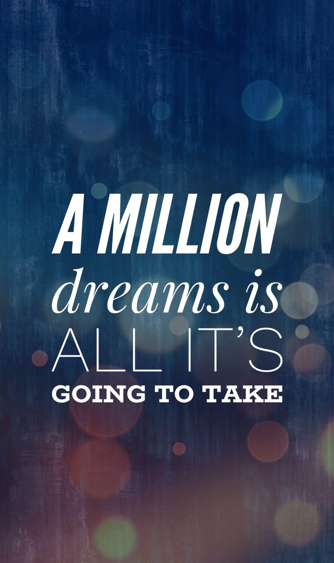 A million dreams lyrics The Greatest Showman The