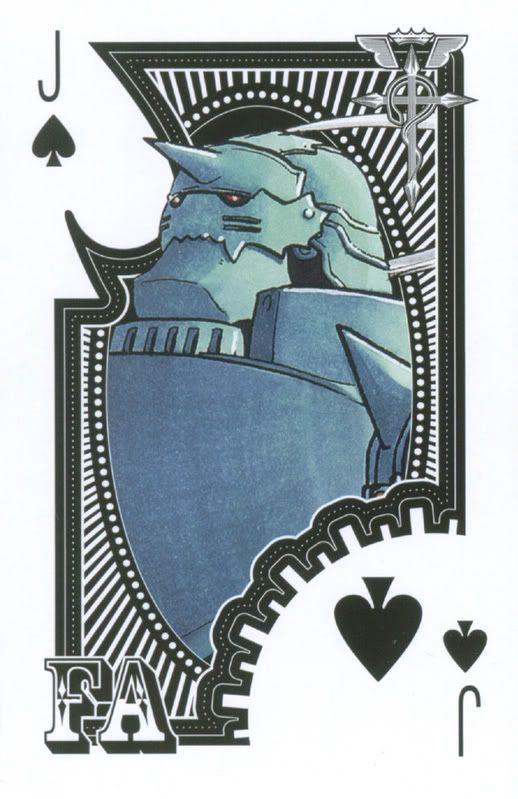Playing Cards and Comics: Fullmetal Alchemist Playing Cards