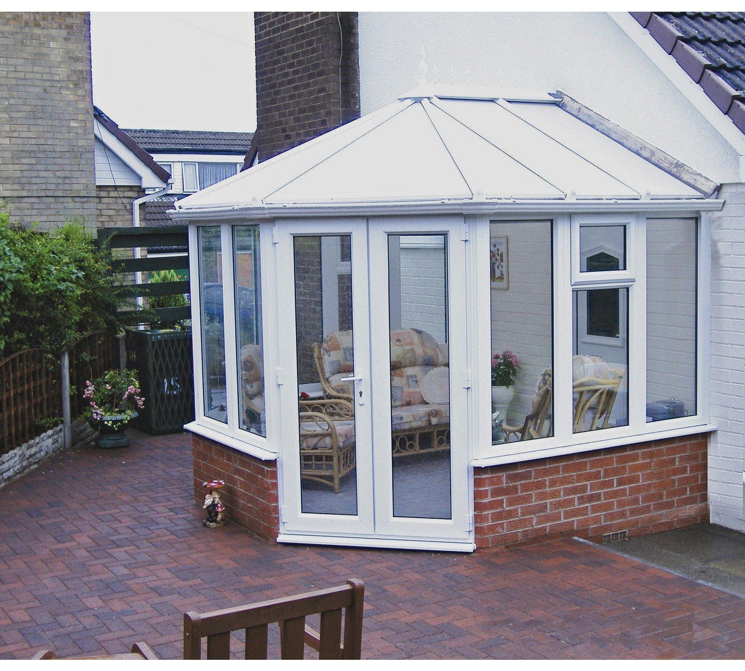 Buy Victorian Dwarf Wall Small Conservatory White At Argos Co Uk Visit Argos Co Uk To Shop Online F Small Conservatory Victorian Conservatory House Exterior